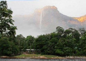 Angel falls, Canaima National Park